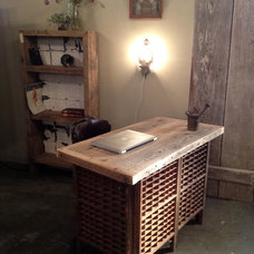 Eclectic Desks by Silver Fox Salvage Los Angeles
