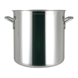 Frieling - Catering Stockpot, 52.6 qt. - Commercial grade thick copper core sandwiched between 18/10 stainless steel