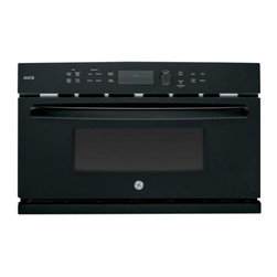 """GE Profile - PSB9240DFBB 30"""" Advantium 1.7 cu. ft. Capacity Wall Oven Speedcook  Convection - GE Profile Advantium oven has won numerous awards for its innovative speedcook technology It Features 17 cu ft Speedcook Oven Convection Bake Proof Mode and Microwave Mode"""