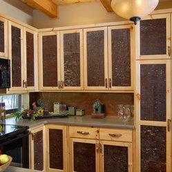 Bark House® Veneer Laminates - White Pine Cabinet Panel Inserts - Luxurious and elegant ...