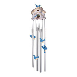 GSC - Wind Chime Round Top Birdhouse Hanging Garden Decoration Windchime - This gorgeous Wind Chime Round Top Birdhouse Hanging Garden Decoration Windchime has the finest details and highest quality you will find anywhere! Wind Chime Round Top Birdhouse Hanging Garden Decoration Windchime is truly remarkable.
