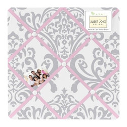 Sweet Jojo Designs - Elizabeth Fabric Memo Board by Sweet Jojo Designs - The Elizabeth Fabric Memo Board by Sweet Jojo Designs, along with the  bedding accessories.