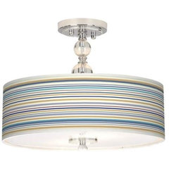 "Landscape Stripe 16"" Ceiling Light 