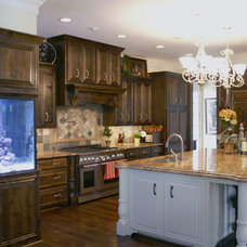 Traditional Kitchen Cabinetry by C&S Cabinets, Inc