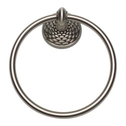 Atlas Homewares - Brushed Nickel Mandalay Towel Ring (ATHMANTRBRN) - Brushed Nickel Mandalay Towel Ring