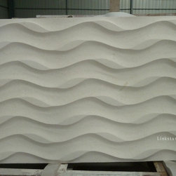 3d natural stone wall art panel, 3d engineered stone wall art panel - 3D decor wall art panel can be carved by natural travertine & onyx.