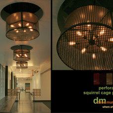 Contemporary Pendant Lighting by dane murphy design.custom lighting