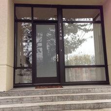 Modern Front Doors by Fibercraft Door Company