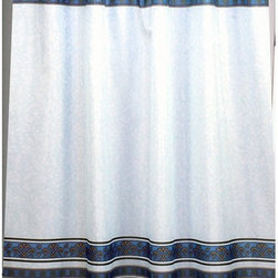 Other Brands - Carnation Home Fashions Fleur Fabric Shower Curtain - FSC-FL/03 - Shop for Shower Curtains from Hayneedle.com! The Carnation Home Fashions Fleur Fabric Shower Curtain adds sophisticated style to your bath. This shower curtain has a graceful Fleur de Lis and handsome stripe pattern in your choice of color combination. It fits most standard showers and is made of machine-washable polyester fabric.About Carnation Home FashionsYour home your style Carnation Home Fashions believes in this motto. That s why this home fashions company offers a wide range of on-trend and classic products designed for style and convenience. Perfect for matching today s busy lifestyles their bath products meet your needs in style. Carnation Home Fashions is based in Newburgh New York.