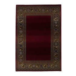 "Oriental Weavers - Transitional Generations 2'3""x4'5"" Rectangle Red-Green Area Rug - The Generations area rug Collection offers an affordable assortment of Transitional stylings. Generations features a blend of natural Red-Green color. Machine Made of Polypropylene the Generations Collection is an intriguing compliment to any decor."