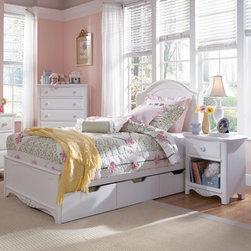 Lea Children's Furniture - Haley Panel Bed - Haley Panel Bed