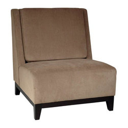 Office Star - Office Star Avenue Six Merge Chair in Easy Brownstone Fabric - Merge chair in Easy brownstone fabric