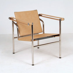 Modern Classics - Le Corbusier: Basculant Chair Reproduction - Features: