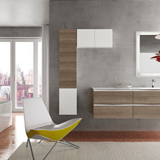 Modern Bathroom Vanities And Sink Consoles by Italian Kitchen and Bath