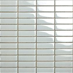 Kertiles Glass Mosaics Bianco Polar - Kertiles Glass Mosaics Bianco Polar