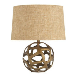 Arteriors - Ennis Lamp - Looking for some texture to spruce up your space? This light is just what you are looking for!