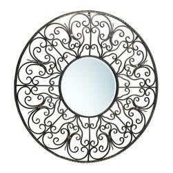 Cyan Design - Cyan Design 02774 European Round Mirror - Cyan Design 02774 European Round Mirror