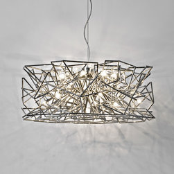 Chandeliers and Suspensions - Designed by Christian Lava