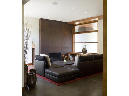 Modern Living Room by William Duff Architects, Inc.