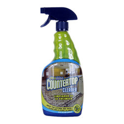 Bryson - Bryson Citrushine Detergents Bleach-Free Kitchen Countertop Cleaner - 4 Pack - CitrushineTM Countertop Cleaner is specially formulated to safely clean food soils and most stains while leaving behind a perfect streak-free shine. Citrushine Countertop Cleaner does NOT contain harmful detergents or bleach a streaky haze will NOT occur after the surface dries. Safe to use on all types of kitchen and bath surfaces including Sealed Granite, Marble, Quartz, Porcelain, Laminate, Corian Brand, Ceramic Tile, Formica Brand, Cultured Marble. 100% Streak Free . Fresh, Clean Citrus Fragrance . NOT contain harmful detergents or bleach a streaky haze will NOT occur after the surface dries . . .