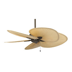 """Fanimation MA7500OB Windpointe Oil Rubbed Bronze Ceiling Fan - Fanimation MA7500OB Windpointe Oil Rubbed Bronze Ceiling Fan*Collection: Windpointe*Blade: 22"""" Wide Oval Palm Leaf*Blade Sweep: 44"""" to 80""""*Weight: 24*Damp Location*Lifetime Warranty"""