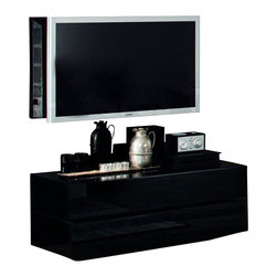 Rossetto - Rossetto Nightfly Back Boiserie For TV Unit - Rossetto - Entertainment Panels & Hutches - R413725513003 -   The boiserie takes in the television with its shocking appeal. Additional piece for your TV unit.  Features: