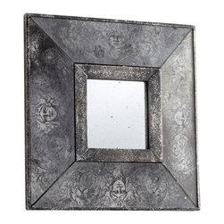 Cyan Design - Cyan Design 06265 Antique Silver Leos Mirror - Cyan Design 06265 Antique Silver Leos Mirror