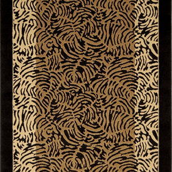 """Home Dynamix - Home Dynamix Rug, Black, 3' 3"""" x5' 2"""" - The Catalina Collection by Home Dynamix."""