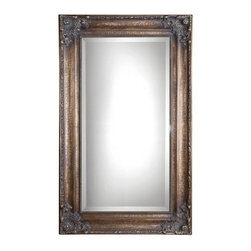 Home Decorators Collection - Hayden Mirror - Get the vintage look of an heirloom without the high price with the Hayden Mirror. It's easy to see the sheer elegance of this home accent, from the exquisite detailing to the beveled glass and intricate trim. Buy today and bring lasting beauty to your home decor.Crackle bronze finish creates timeless appeal.Has a stylish wood construction.