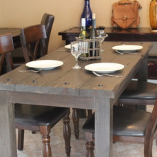 Mediterranean Outdoor Tables by Old World Italian Rustics LLC