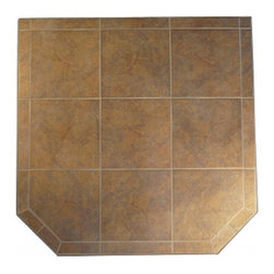 """HearthSafe - HearthSafe Steel Frame Standard Hearth Pad - SP4-1228 - Shop for Fireplace Accessories from Hayneedle.com! Add an added level of safety to your home while protecting your flooring with the HearthSafe Steel Frame Standard Hearth Pad. Crafted from tile with an angle-iron steel edge and BaseRigid cement board this entire hearth pad is fireproof making it both a flame arrestor and thermal barrier. Made with a single piece of angle-iron that is notched welded and finished in an anti-scratch powder coating gives the edging unmatched durability. Constructed to meet or exceed UL safety standards this pad features stain resistant grout that won't crack making it virtually maintenance free. Complete with a lifetime limited burn-through warranty this hearth pad is available in your choice of size and color. Additional Features Uses a single piece of angle-iron Angle-iron is notched and welded Edging design provides unmatched durability Meets or exceeds UL safety standards Stain resistant grout won't crack BaseRigid cement board Maintenance free construction Pad is both a flame arrestor and thermal barrier About HearthDistribution.comWith a combined experience of 65 years HearthDistribution.com (HDC) work's hard to provide their customers with peace of mind and hands-on operation. All of their hearth pads and extensions are tested and listed to meet the current safety standards to provide you with the safest installation of your stove or fireplace insert. As an online retailer with no """"brick and mortar"""" stores HDC is able to save money and passes those savings onto their customers."""