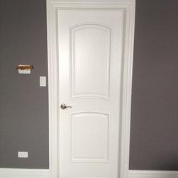 Interior door custom home -