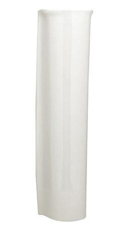 American Standard - American Standard 0041.000.020 Ravenna Pedestal Leg, White - American Standard 0041.000.020 Ravenna Pedestal Leg, White. This pedistal leg is designed to be used with American Standard's 0268 Model Pedistal Sink.