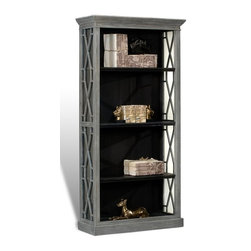 EuroLux Home - Etagere Gray Alder 3-Shelf Adjustable - Product Details