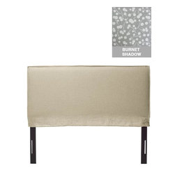 Home Decorators Collection - Custom Archie Upholstered Headboard - Our Custom Archie Upholstered Headboard features a soft square profile finished with French seams. This fabric headboard is available in your choice of beautiful patterned or solid-color fabric. Make your bedroom unique with this custom headboard. Includes French seam border. Includes hardware to attach to most standard bed frames. Assembled to order in the USA and delivered in 4-6 weeks. Spot clean only.