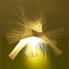 modern ceiling lighting by Suite 102
