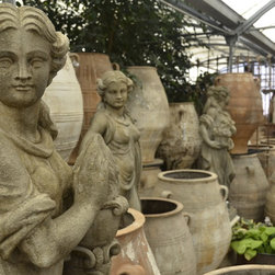 Four Seasons Statues in French Limestone Finish -
