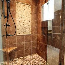 Traditional Bathroom by New Old, LLC
