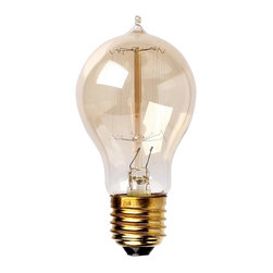 ParrotUncle - Edison Tungsten Filament Vintage Style Light Bulb Drop Straight - Enjoy a touch of period home ambiance with one of our vintage Edison bulbs. Its diamond filament and slight tint creates a warm and welcoming glow that provides authenticity to any sophisticated interior. Faithfully recreated from historic designs, these light bulbs look great in any exposed light socket such as chandeliers, sconces or socket pendants. Brass E26/E27 screw base with clear glass bulb will assure them a 3000 hours average service life.