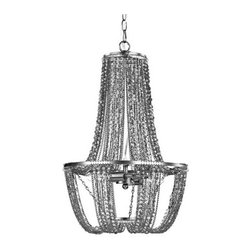 Sterling Industries - Sterling Industries 122-028 Signature 2 Light Pendants in Tea Stained - A Metallic Bronze Cage Is Dressed With Tea Stained Cut Crystal Drops, Each Chain Shimmers And Sparkles Reflecting Light And Creating Ambience.