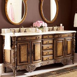 Traditional Bathroom Vanities And Sink Consoles -