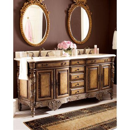 Traditional Bathroom Vanities Sink Consoles Horchow:Pplump