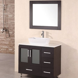 "36"" Stanton Single Vessel Sink Vanity (B36-VS) -"