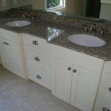 Contemporary Bathroom Vanities And Sink Consoles by Paravan Wood Design