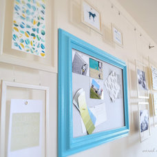 sarah m. dorsey designs: Gallery Wall for the Living Room / Office!
