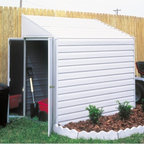 Arrow Yardsaver Shed - Take a look at some of our Arrow brand sheds. Arrow is the leading manufacturer of steel sheds in the USA. They offer a very economical solution to all of your storage needs. Arrow has a full line of small garden sheds to large garages.