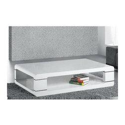 Armen Living - Armen Living Coffee Table in White - Armen Living - Coffee Tables - LC802DCOWH