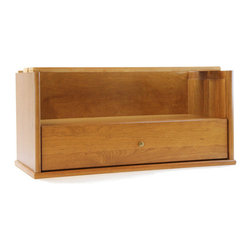 Hale - Extra Deep Open / Storage Drawer Section for Bookcase - Originally known as the Barrister's Bookcase, Hale's sectional shelving has evolved from a case in which to store law books, to a modular system that can be used in every room any room of your home for any purpose.