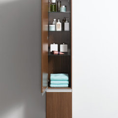contemporary bathroom storage by UK Bathrooms