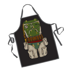 Boba Fett BBQ Apron - Joint the hunt...... for some really good food! The Boba Fett BBQ Apron is the perfect gift for that chef who just can't get enough of the Star Wars series.
